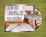 How To Spiritualize Your Research